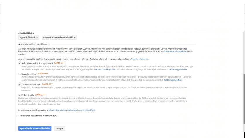 Google Analytics új fiók-2
