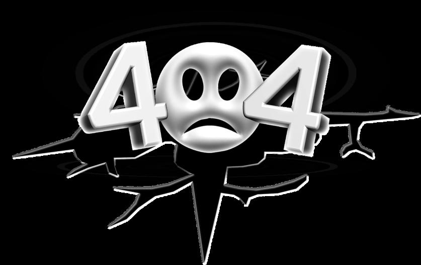 404 hiba, az oldal nem található