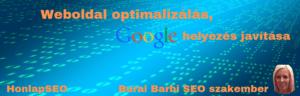 Weboldal optimalizálás, Google helyezés javítás