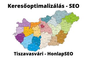 SEO Tiszavasvári keresőoptimalizálás Tiszavasvári