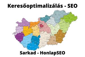 SEO Sarkad keresőoptimalizálás Sarkad