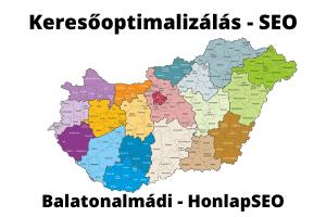 SEO Balatonalmádi keresőoptimalizálás Balatonalmádi