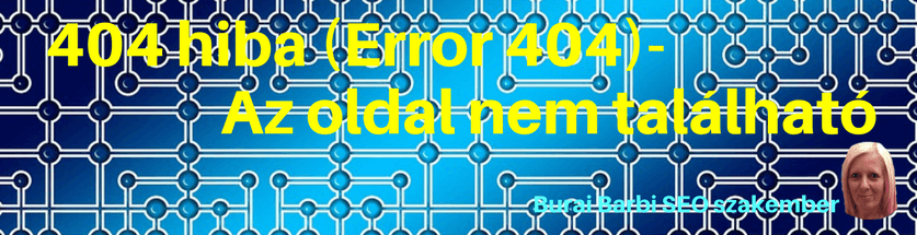 404 hiba (Error 404)