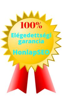 100% elégedettségi garancia a HonlapSEO- tól
