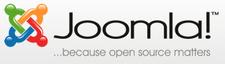 Joomla tartalomkezelő rendszer.