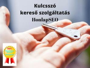 Kulcsszó kutatás szolgáltatás a HonlapSEO- tól