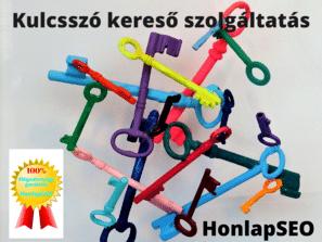 Kulcsszó kereső szolgáltatás a HonlapSEO- tól