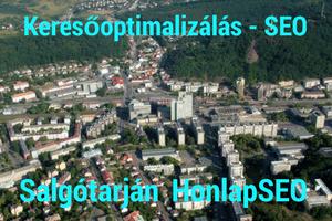Keresőoptimalizálás Salgótarján és környéke