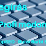 SEO szövegírás 2018- ban, profi tartalomfejlesztés