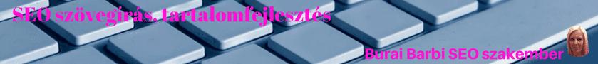 SEO szövegírás, tartalomfejlesztés banner